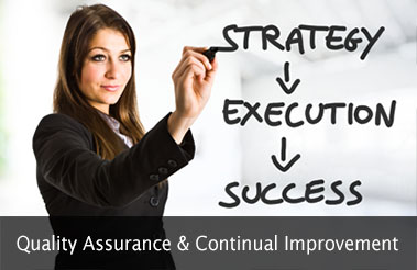 Quality Assurance & Continual Improvement